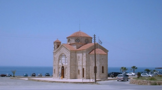 Greek church in Cyprus