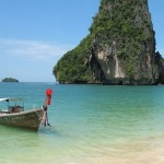 Boat On Beach In Thailand